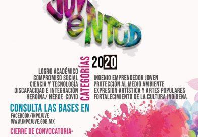 SE RECONOCERÁ A JÓVENES PROFESIONALES DE LA SALUD EN LA EDICIÓN 2020 DEL PREMIO ESTATAL DE LA JUVENTUD