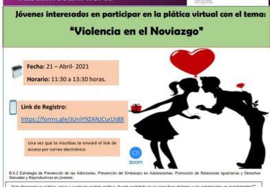 IMES FORTALECE ACCIONES PARA PREVENIR EMBARAZO ADOLESCENTE, VIOLENCIA EN EL NOVIAZGO Y ADICCIONES