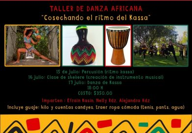 SECULT PROMUEVE TALLER DE DANZA AFRICANA